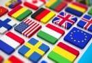 Drapeaux de plusieurs pays étrangers